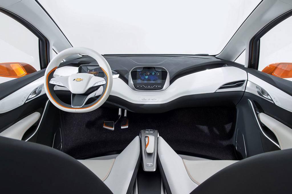 Фото салон Chevrolet Bolt EV Concept 2015
