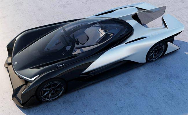 Фото прототипа Faraday Future FFZERO1
