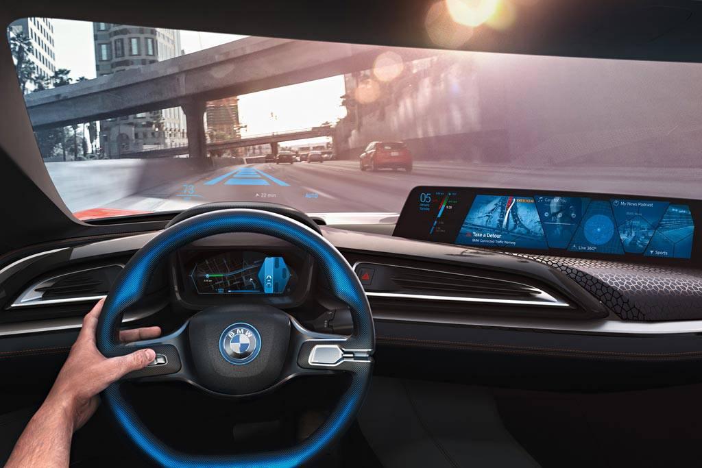 фото концепта BMW i Vision Future салон будущего