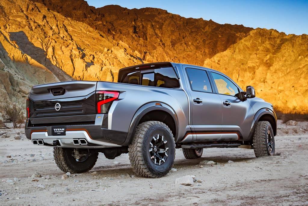 Фото Nissan Titan Warrior Concept