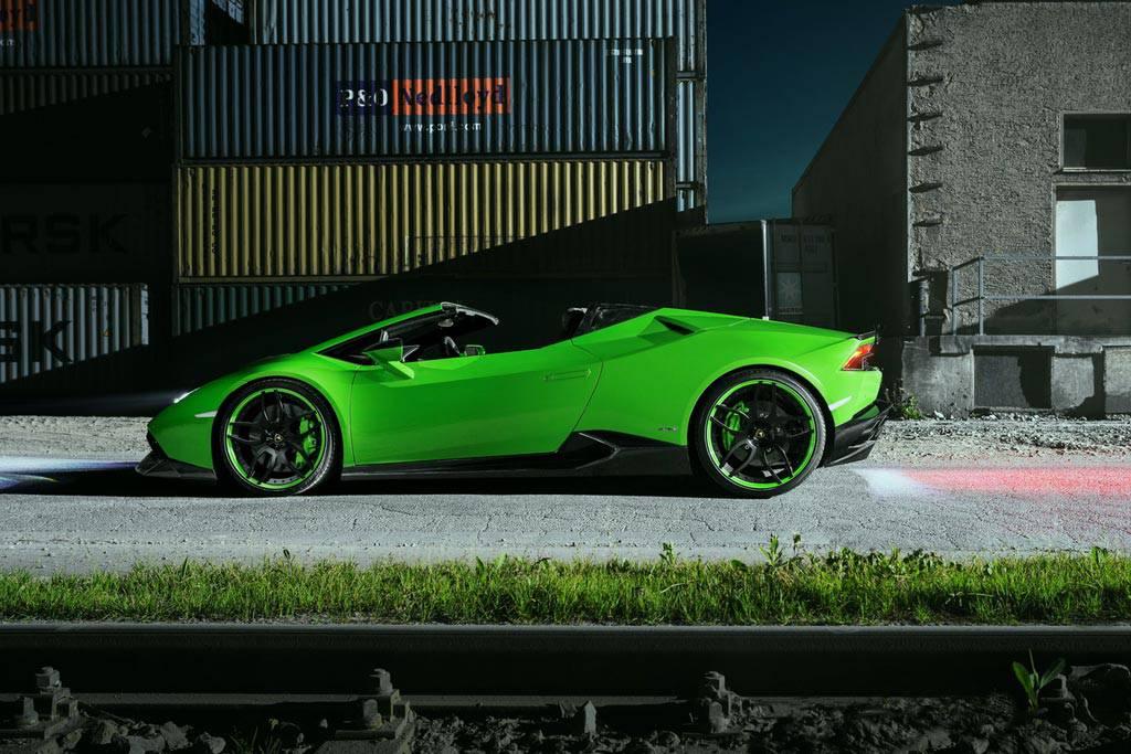 фото Lamborghini Huracan Spyder от ателье Novitec Torado
