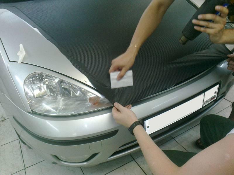 Оклейка автомобиля пленкой - фото