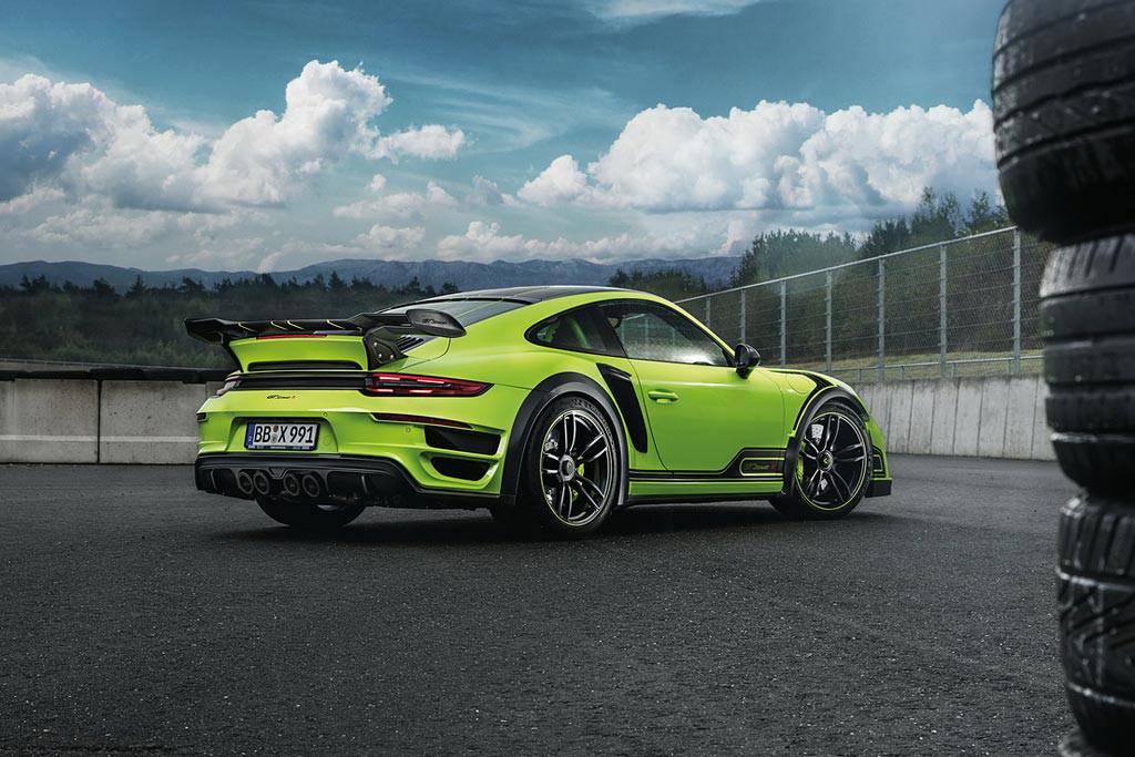 картинки Porsche 911 Turbo GTstreet R от ателье TechArt