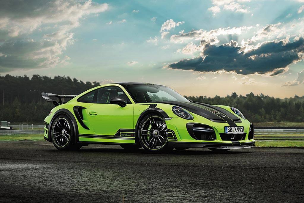 фото Porsche 911 Turbo GTstreet R от ателье TechArt