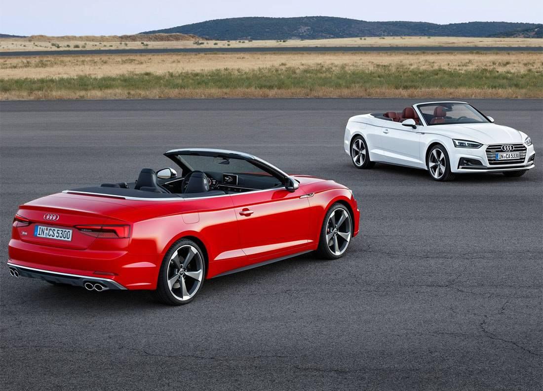 фото Audi A5 Cabriolet и Audi S5 Cabriolet с 354-сильным бензиновым мотором