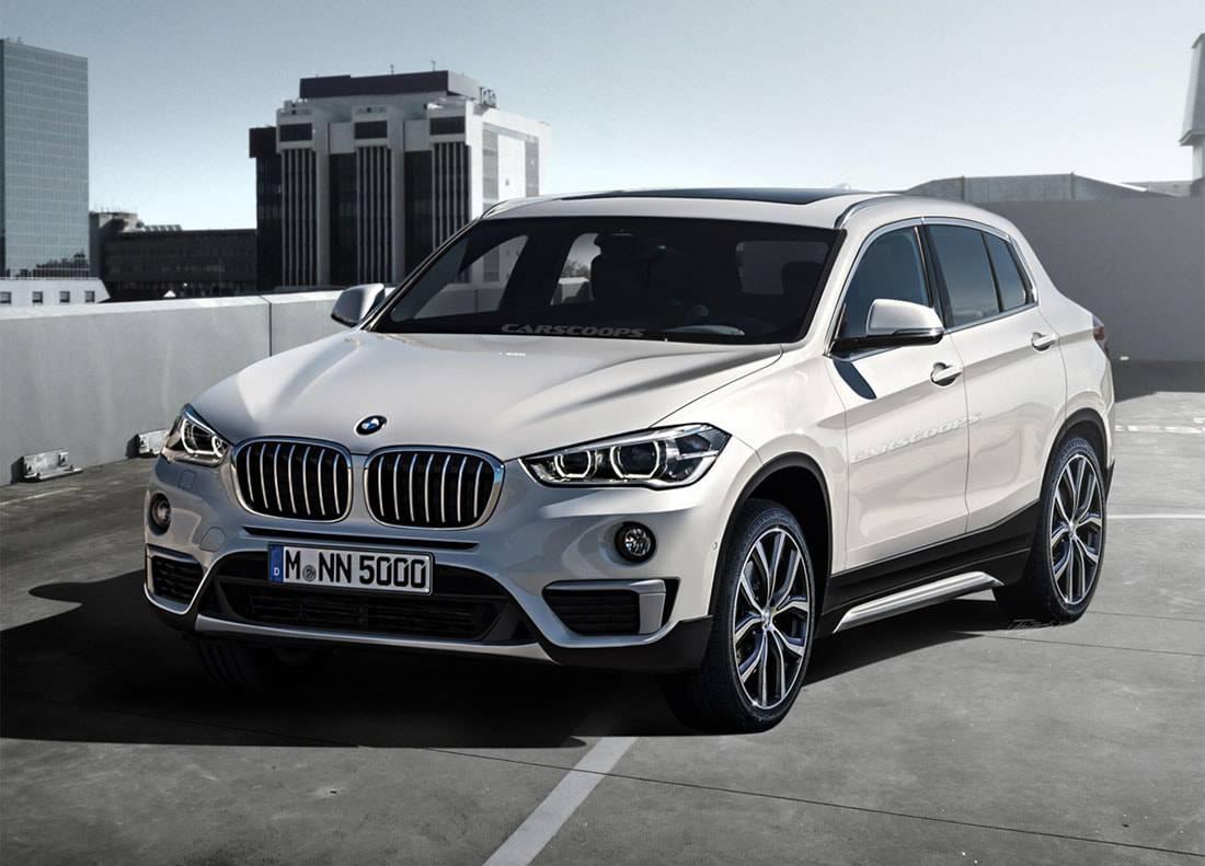 кроссовер BMW X2 Concept