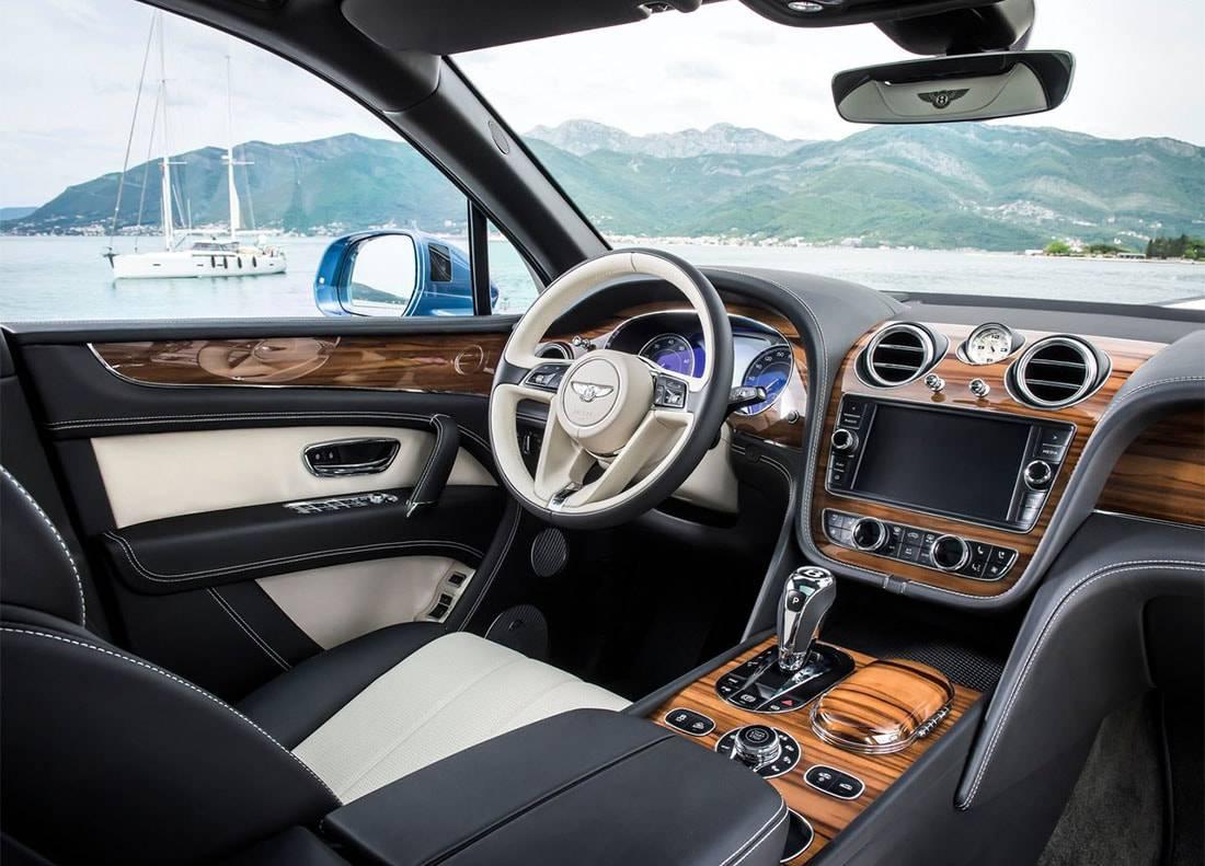 фото салона Bentley Bentayga Diesel 2017-2018 года