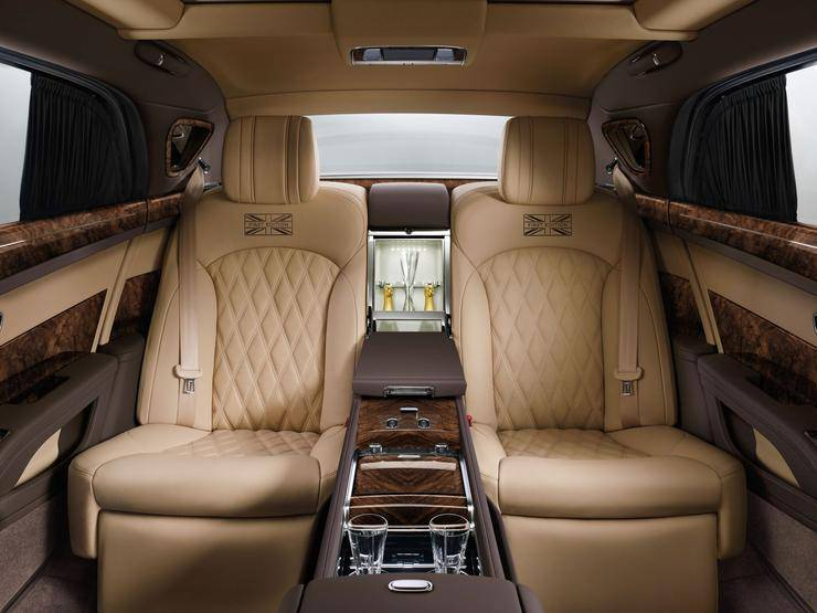 фото салона Bentley Mulsanne 2016-2017 года
