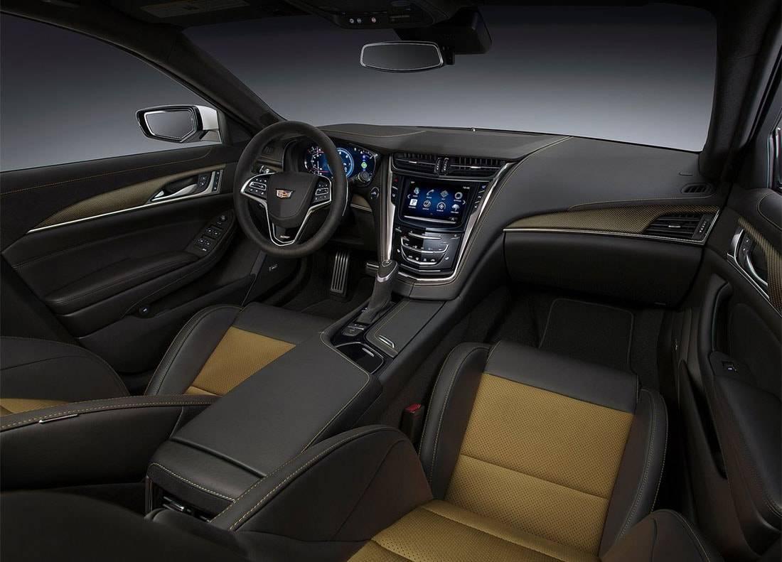 фото салона Cadillac CTS-V 2016-2017 года