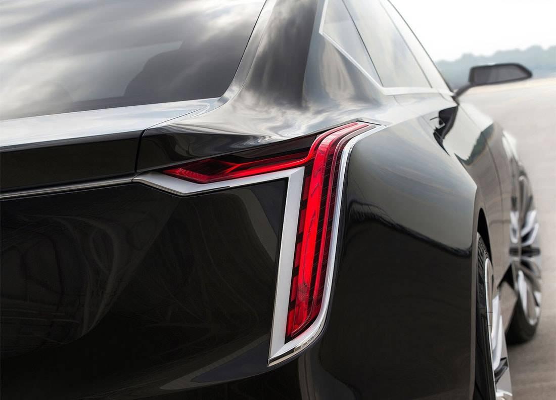 картинки Cadillac Escala Concept 2016-2017 габаритные фонари