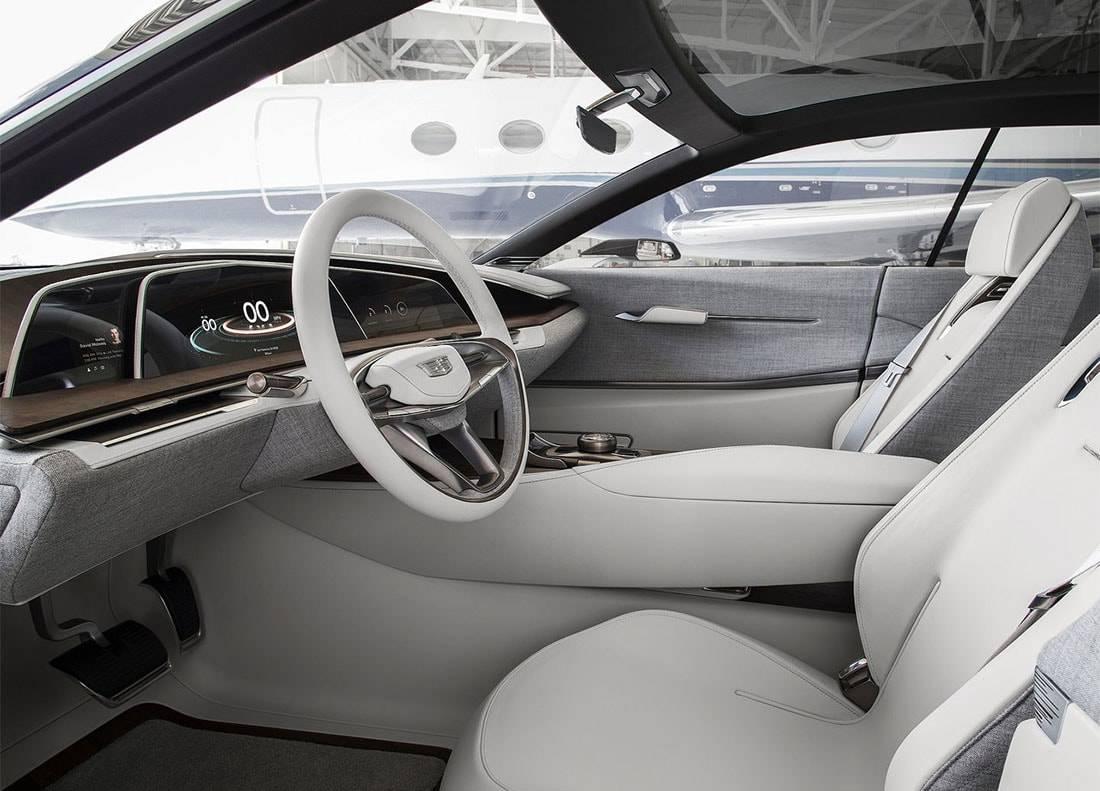 картинки салона Cadillac Escala Concept 2016-2017