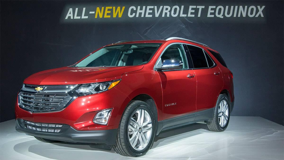 фото новый Chevrolet Equinox 2017-2018 года