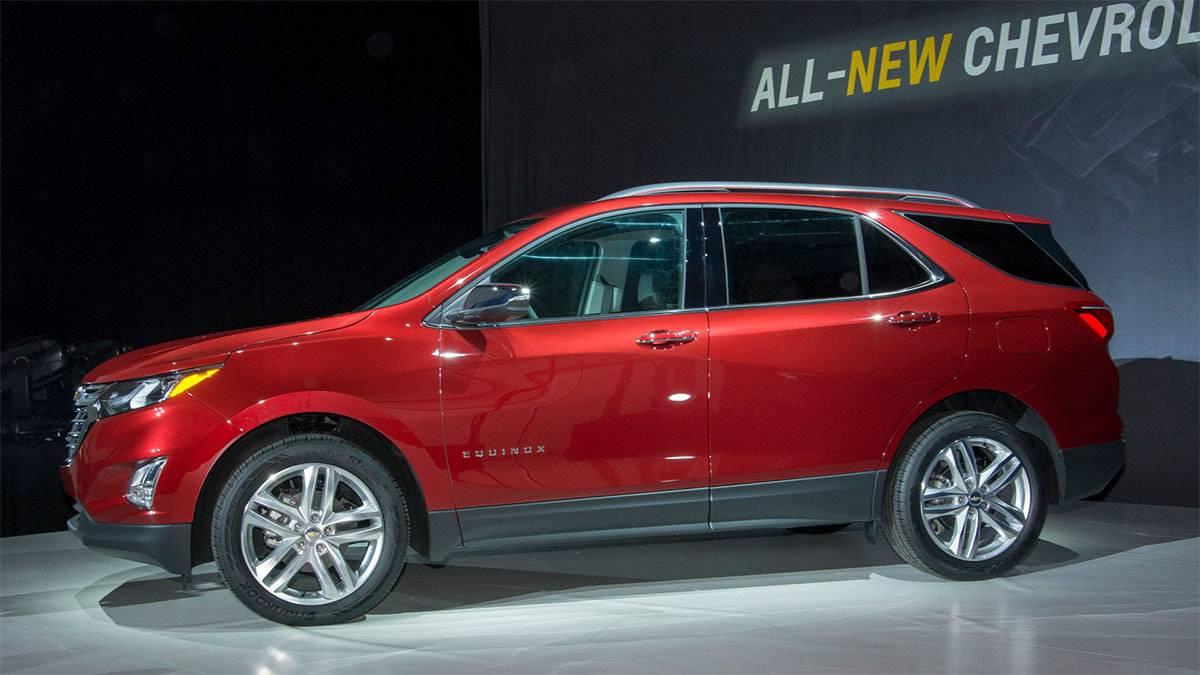 картинки кроссовера Chevrolet Equinox 2017-2018 года