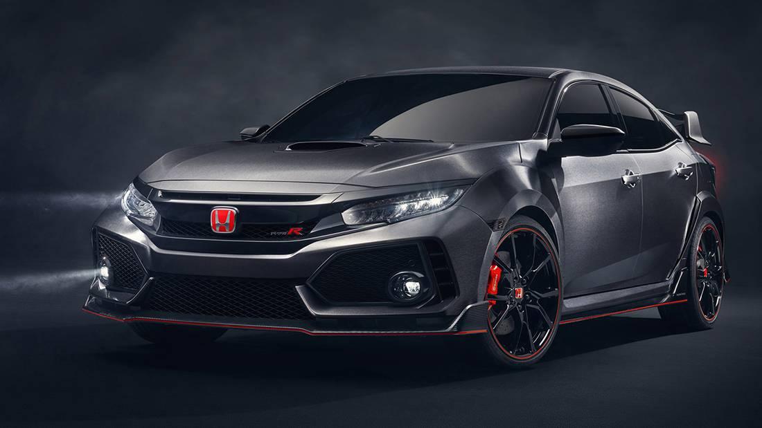 фото концепта Honda Civic Type R 5 поколения