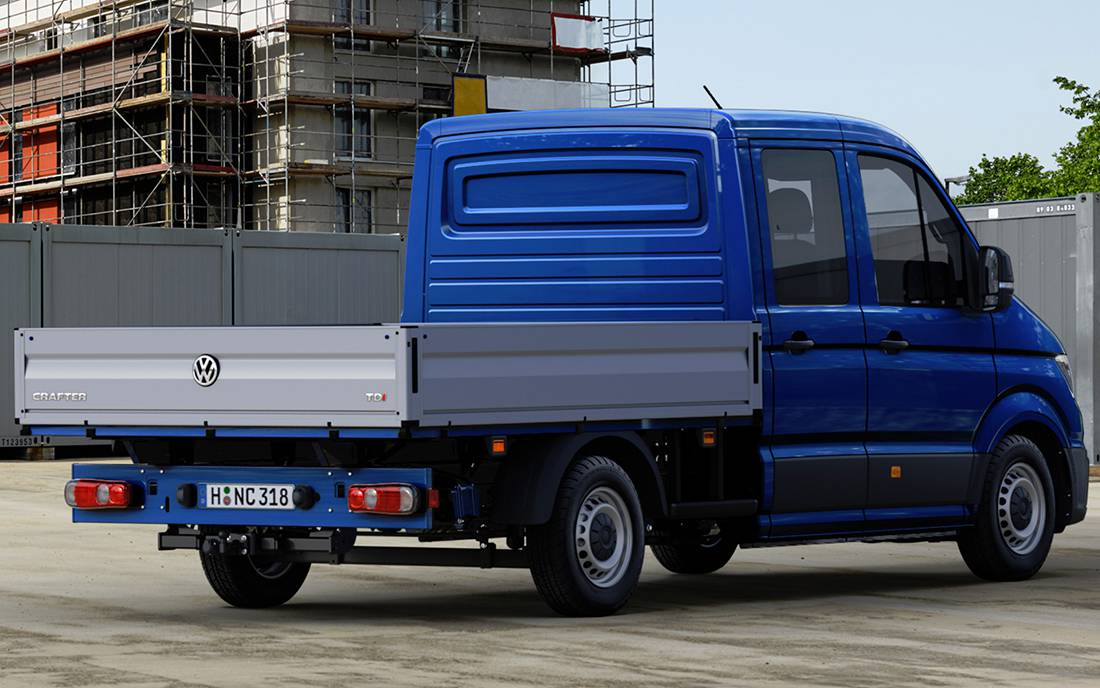 бортовой грузовик Volkswagen Crafter 2