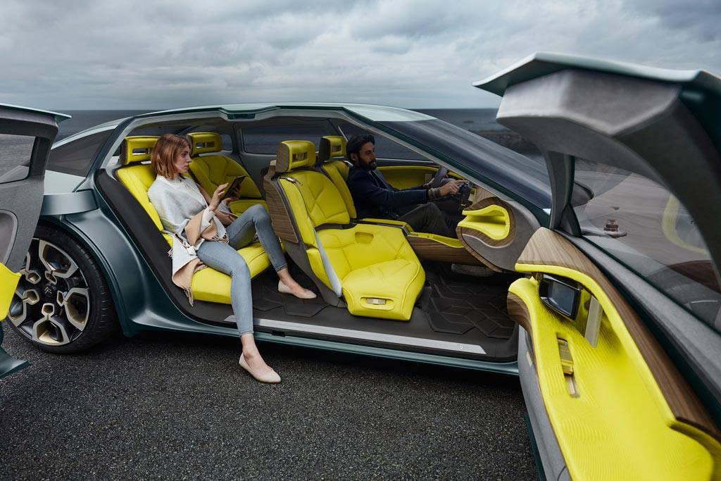 фото интерьера Citroen CXperience Concept 2016-2017 года
