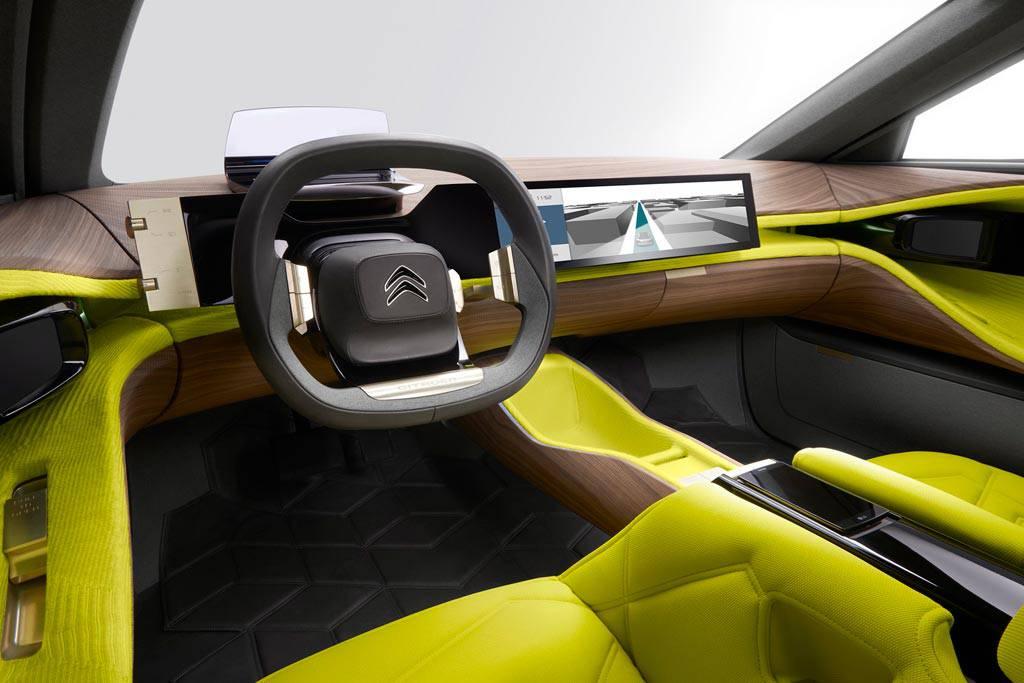 картинки салона Citroen CXperience Concept 2016-2017 года