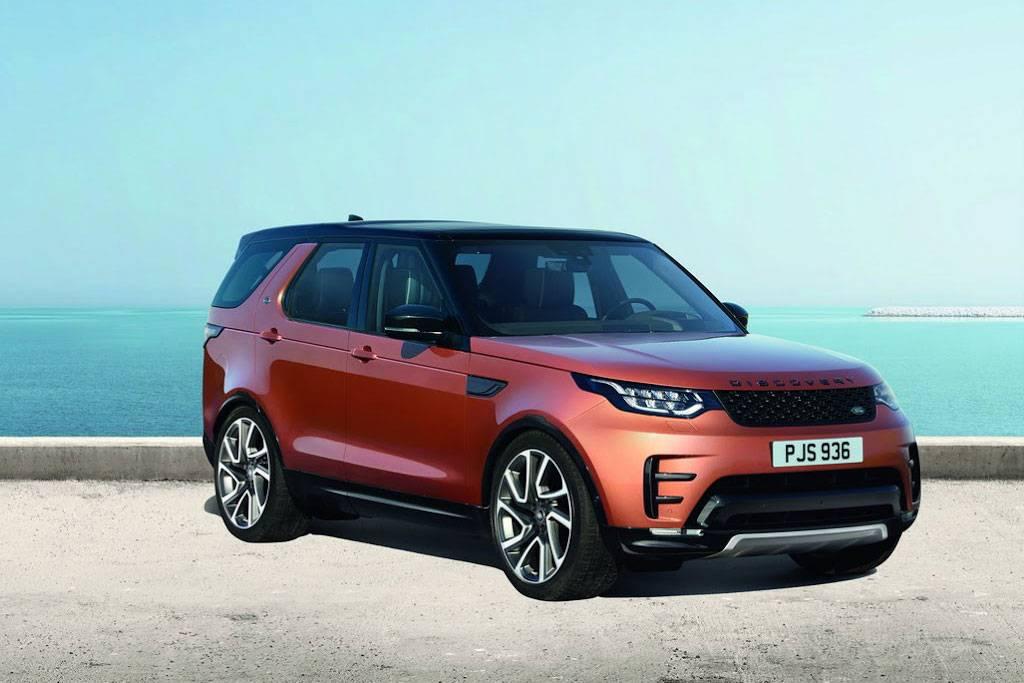 фото внедорожник Land Rover Discovery 5