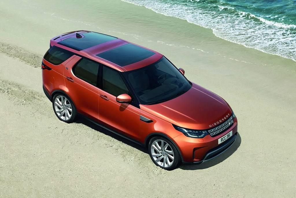 фото Land Rover Discovery 5 поколения 2017-2018 года