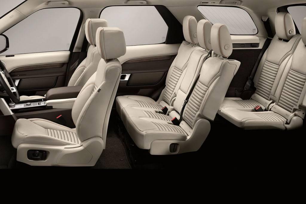 фото интерьера Land Rover Discovery 5 поколения 2017-2018 года