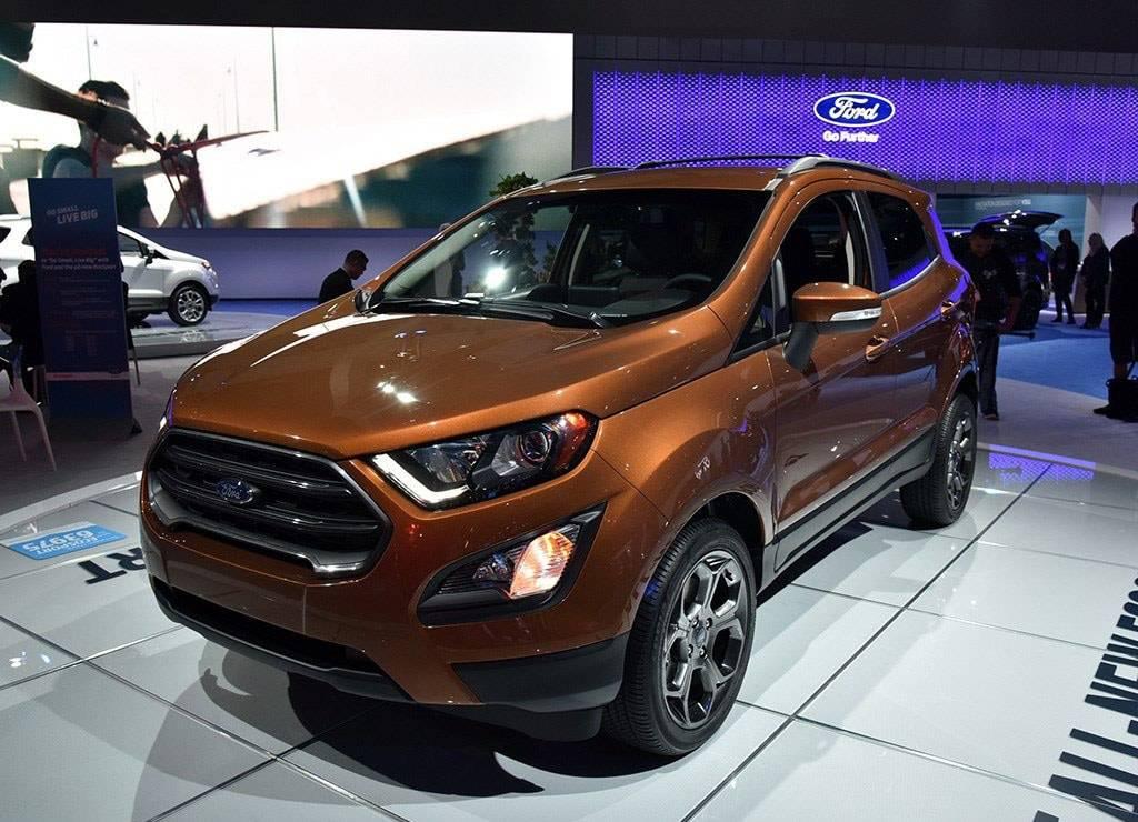 фото Ford EcoSport 2017-2018 года вид спереди