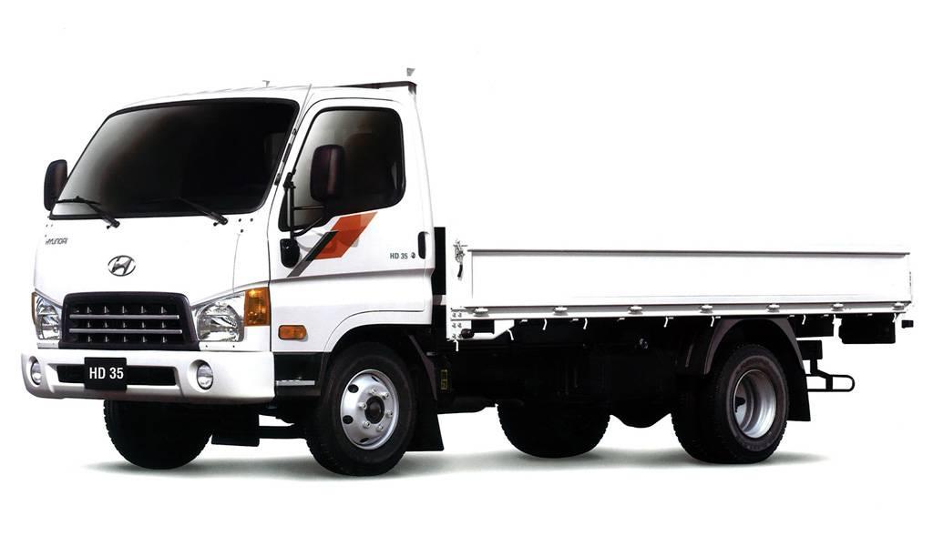 фото грузовика Hyundai HD35