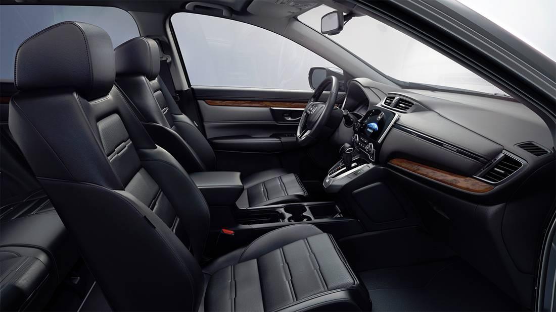 фото интерьера Honda CR-V 2017-2018 года