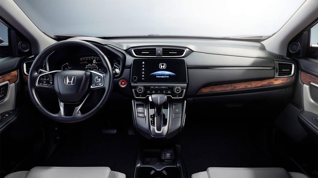 фото салона Honda CR-V 2017-2018 года