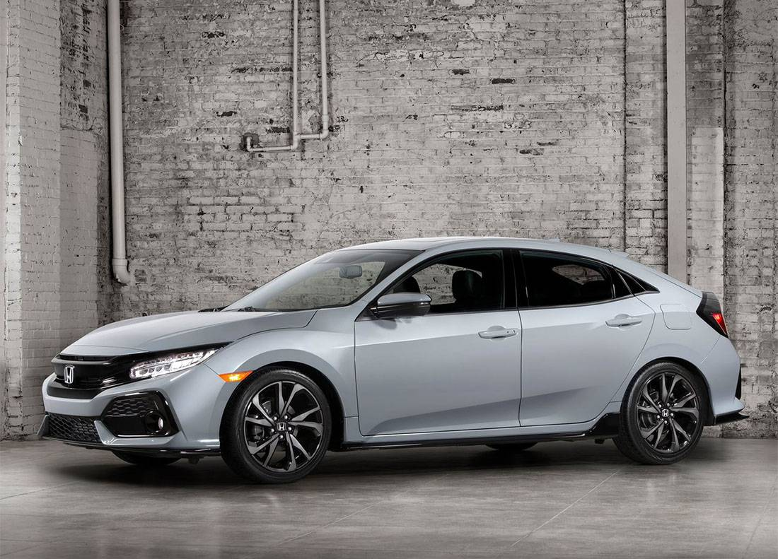 картинки Honda Civic 10 2017-2018 года