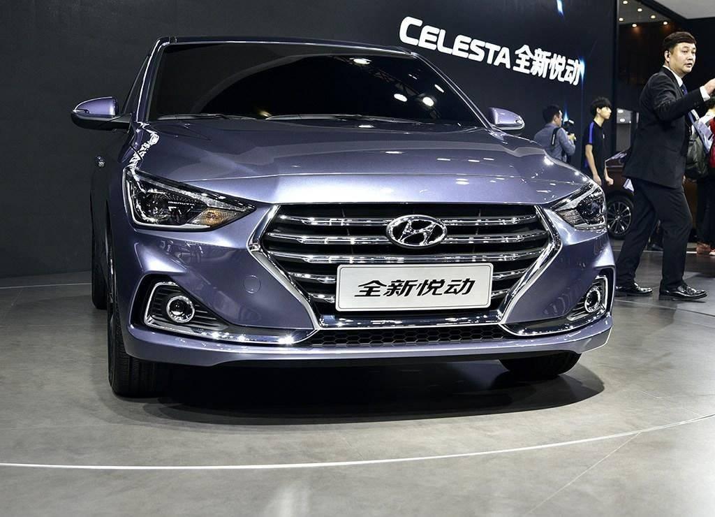 фото Hyundai Celesta 2017-2018 года вид спереди