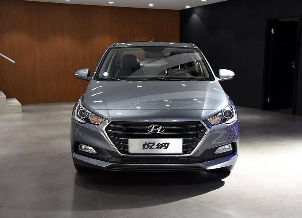 фото Hyundai Verna 2016-2017 вид спереди