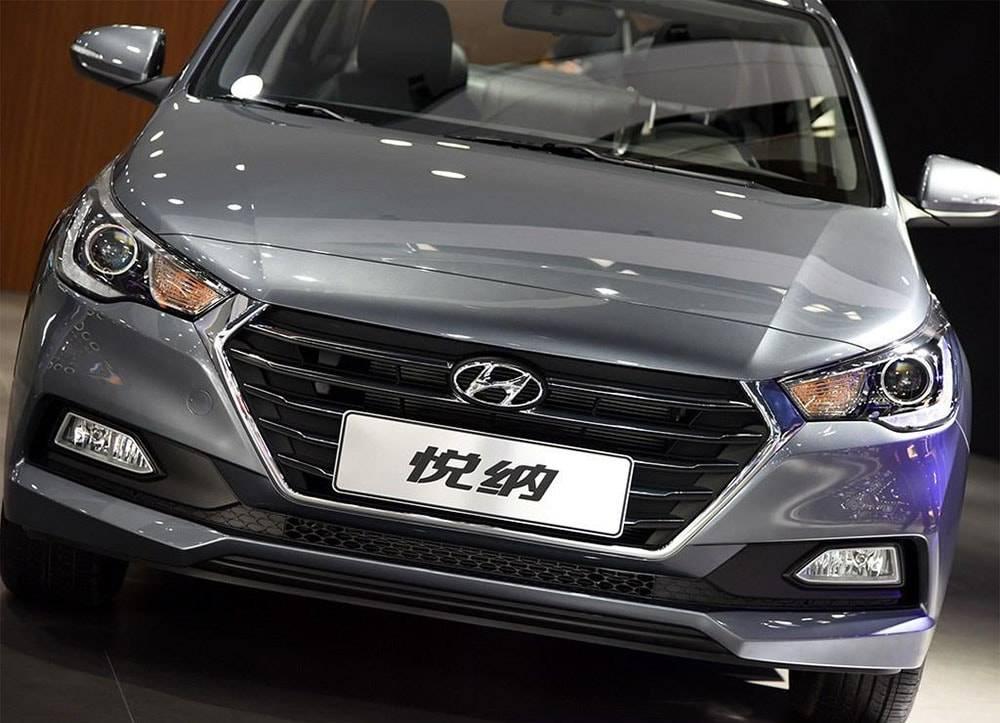 картинки Hyundai Verna 2016-2017 года