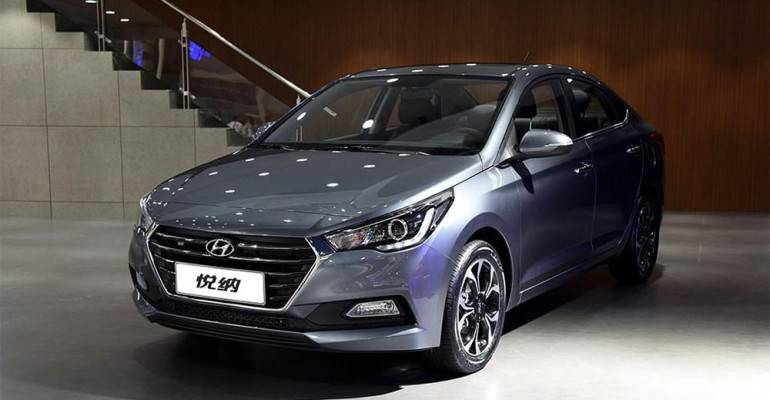 Новый Hyundai Verna (Hyundai Solaris) 2-го поколения