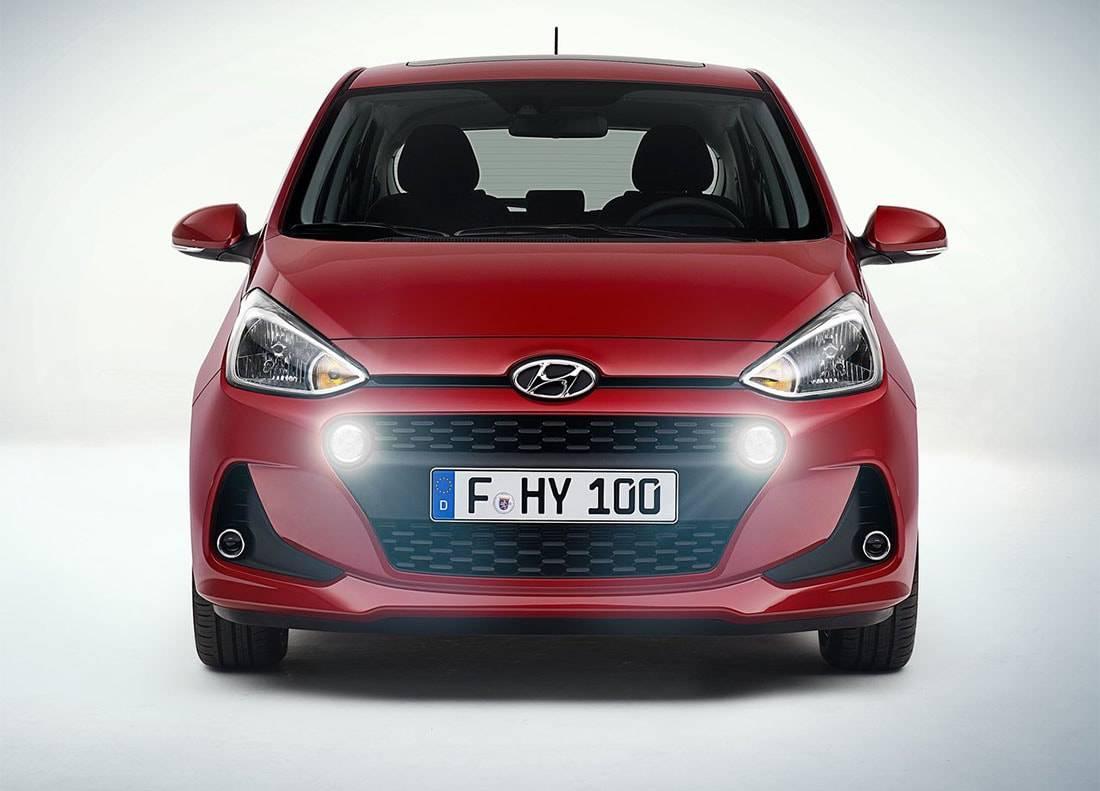 фото Hyundai i10 2016-2017 года вид спереди