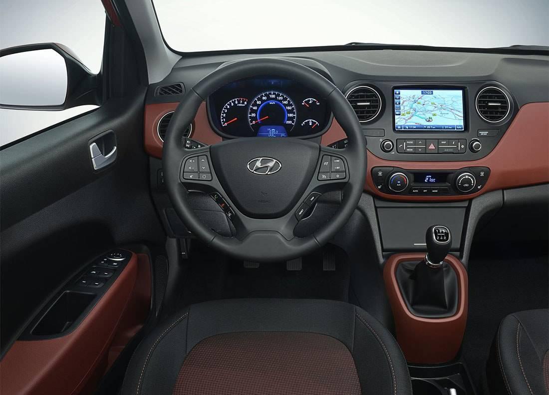 фото салона Hyundai i10 2016-2017 года