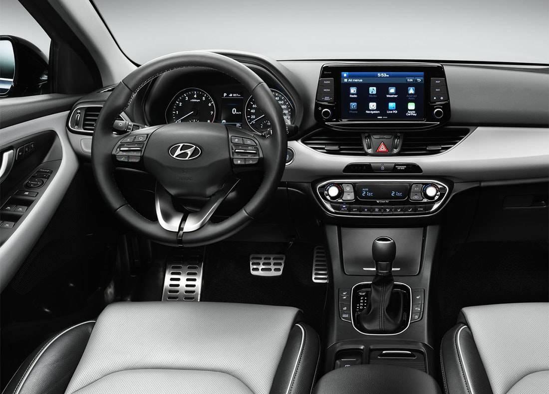 фото салона Hyundai i30 2017-2018 года
