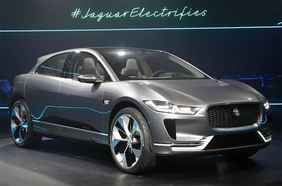фото Jaguar I-Pace Concept 2017-2018 вид спереди