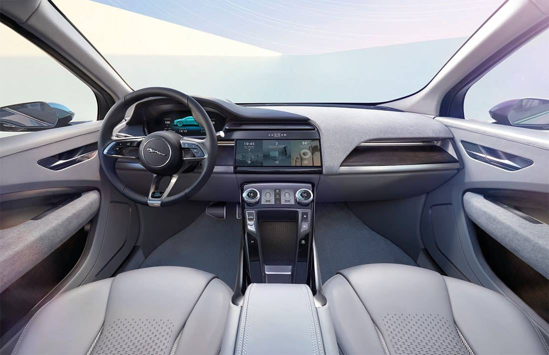 фото салона Jaguar I-Pace Concept 2017-2018