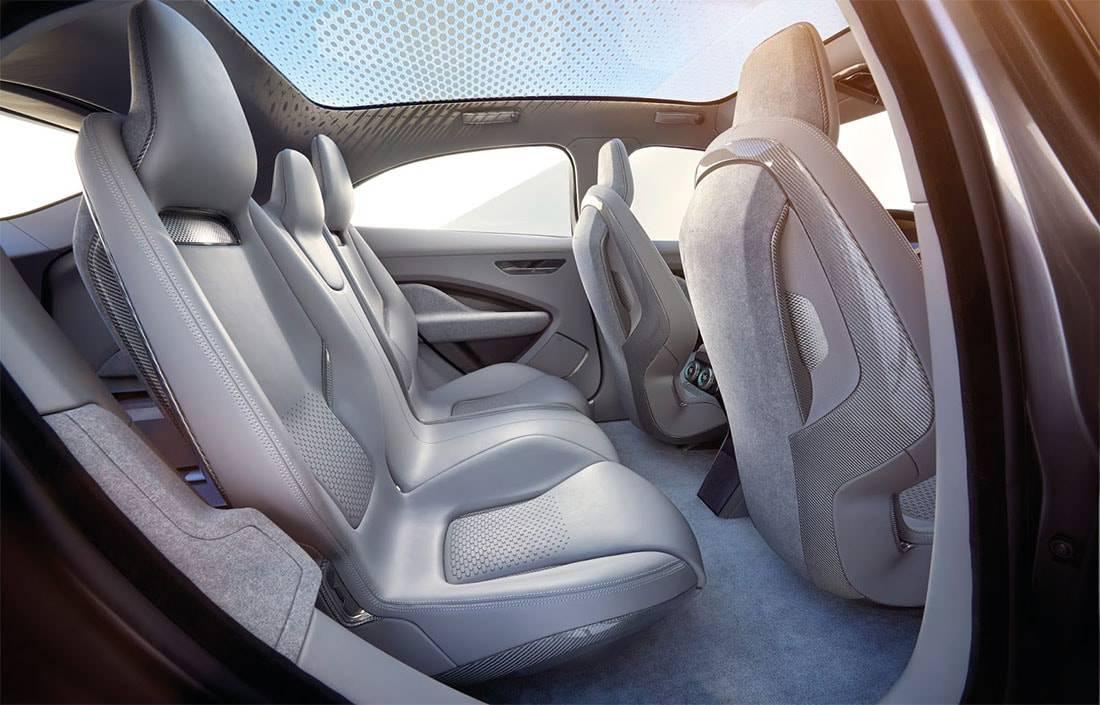 картинки интерьера Jaguar I-Pace Concept 2017-2018