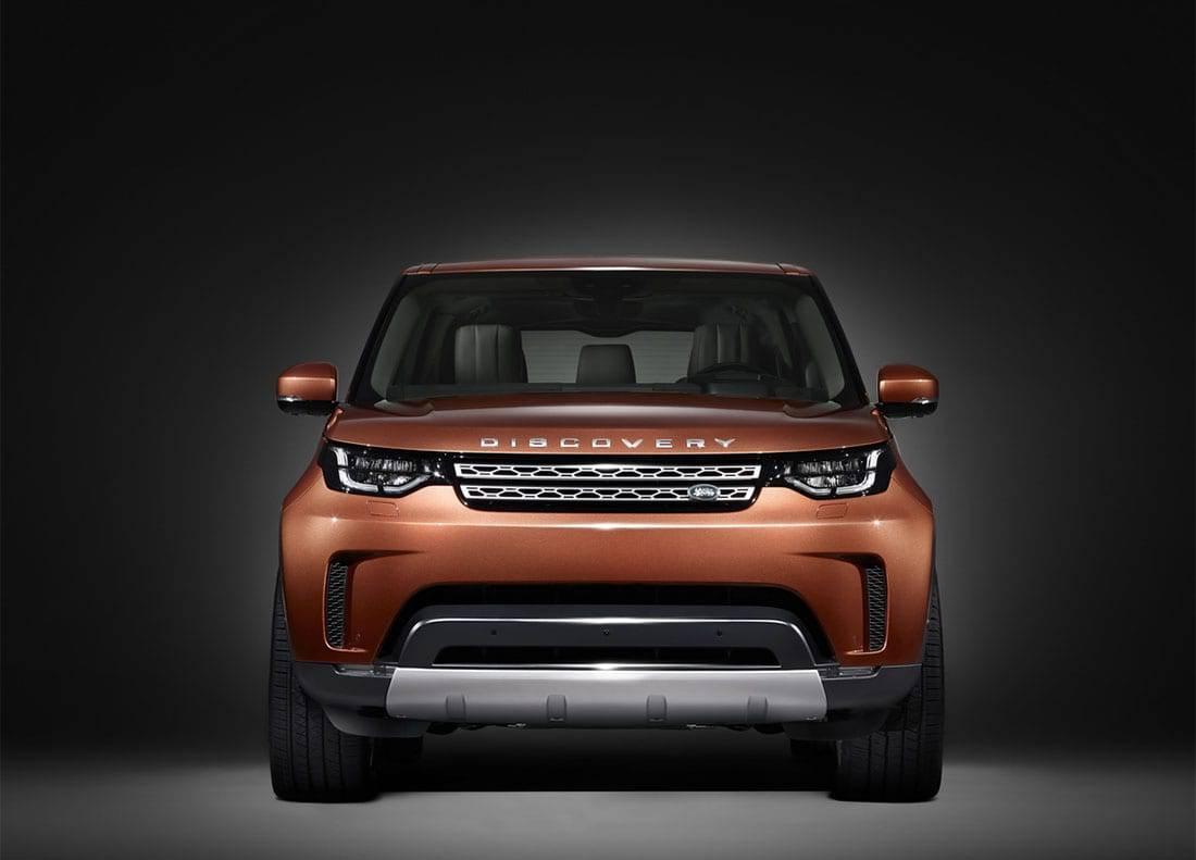фото Land Rover Discovery нового поколения