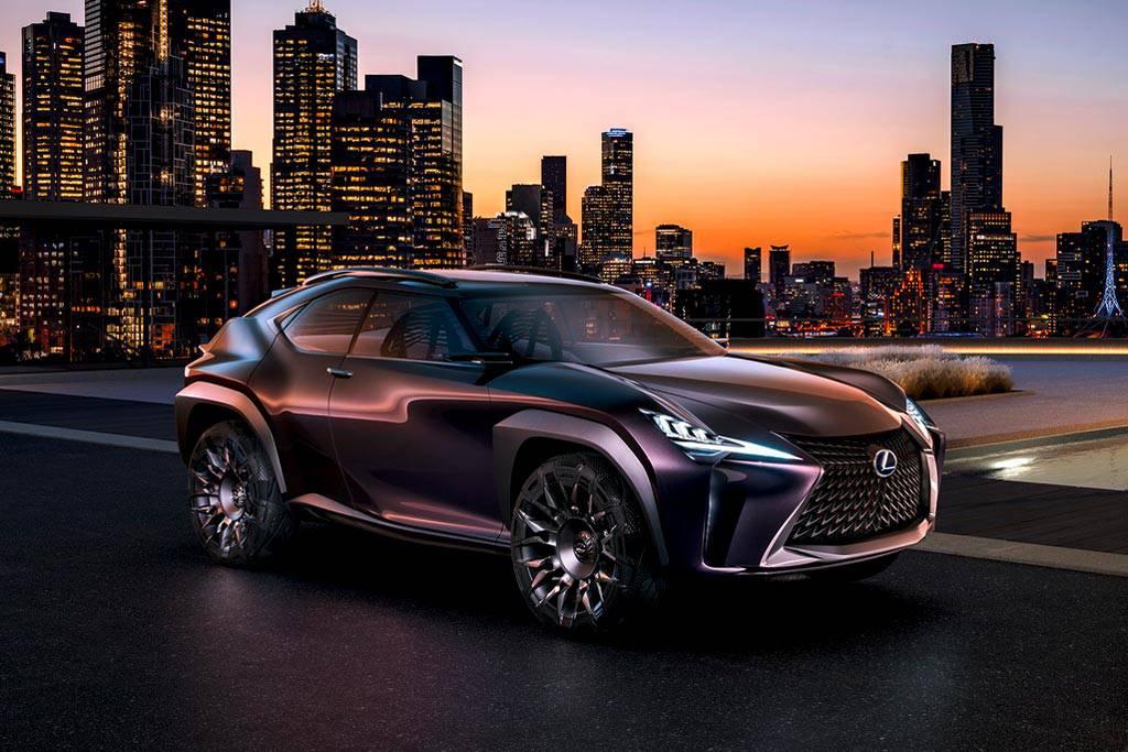 фото Lexus UX Concept 2017