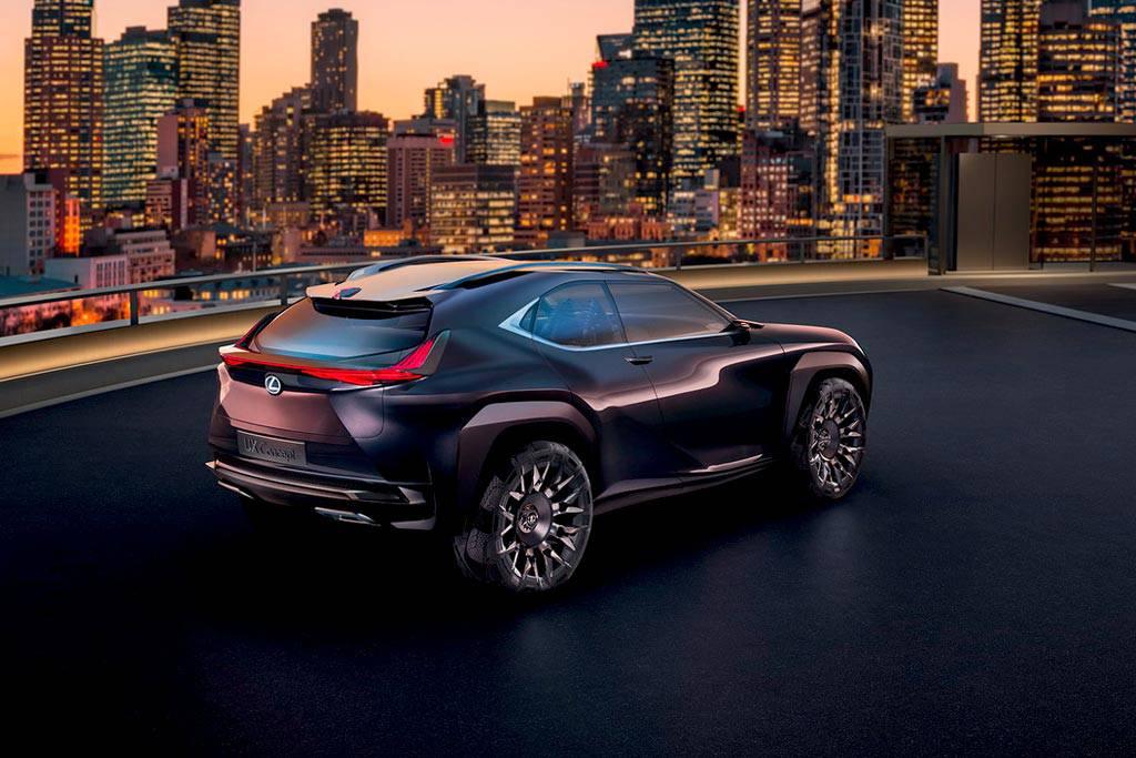 картинки Lexus UX Concept 2017
