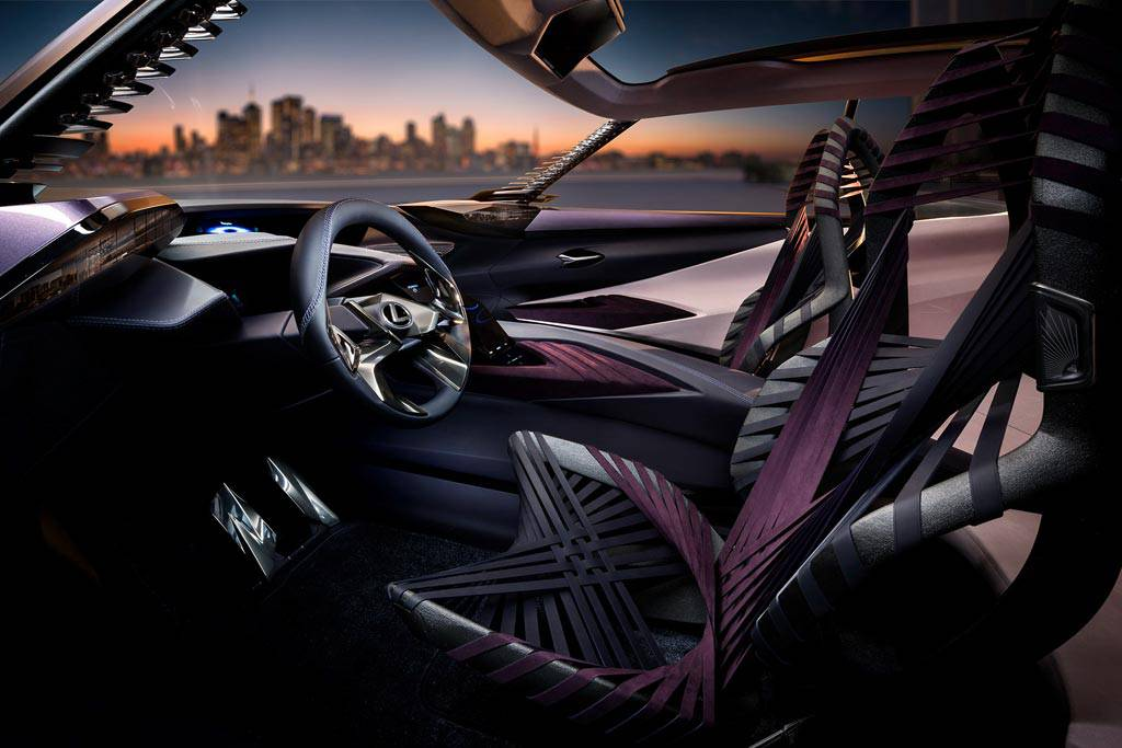 фото салона Lexus UX Concept 2017