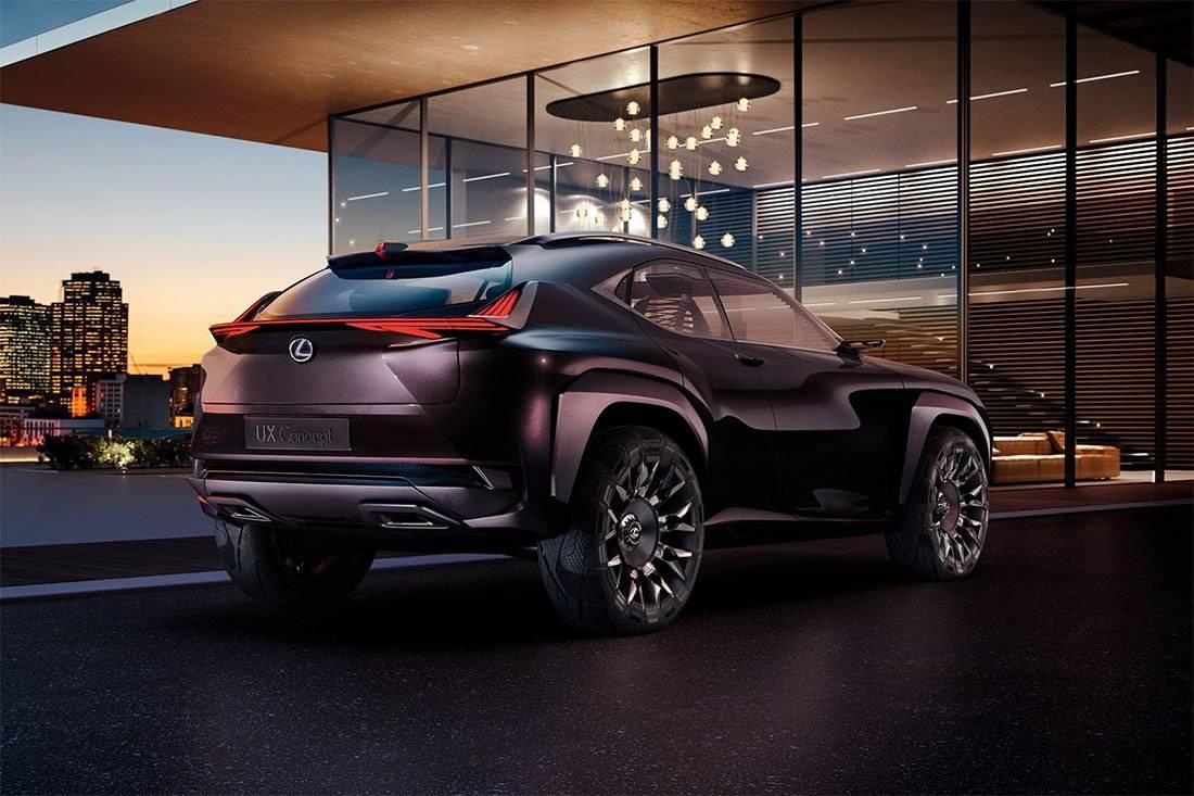 Lexus UX Crossover Concept фото