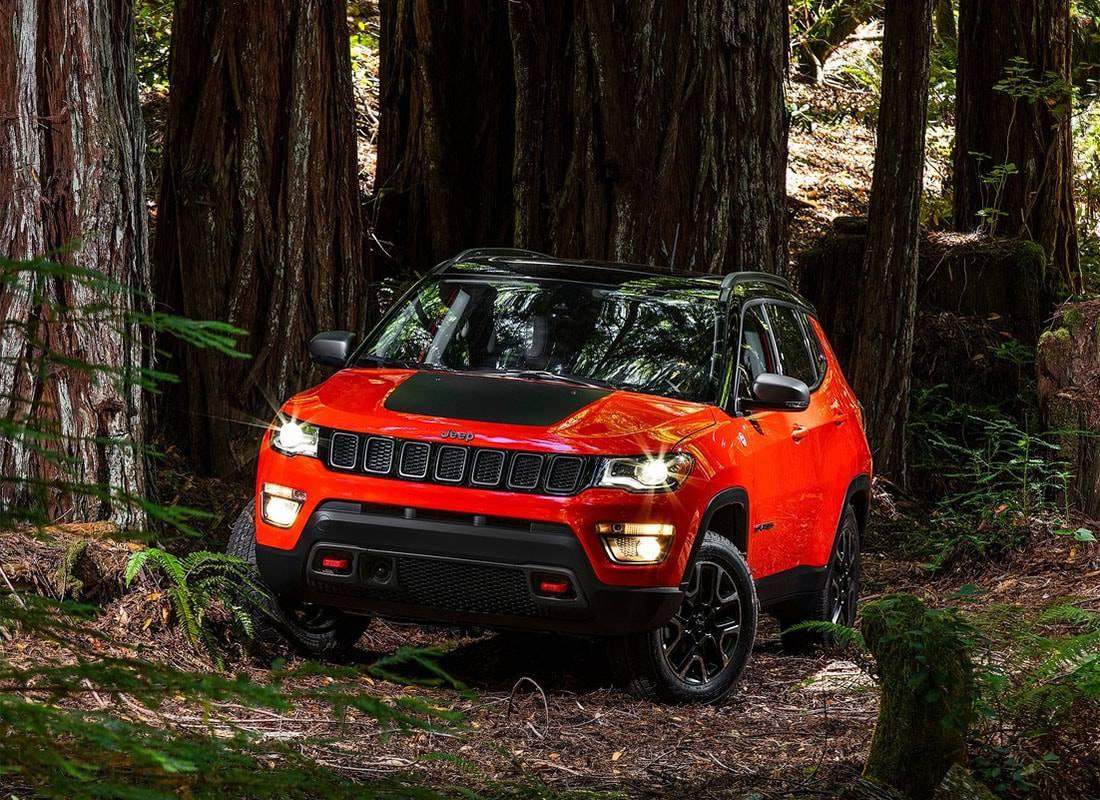 фото новый Jeep Compass 2017 года
