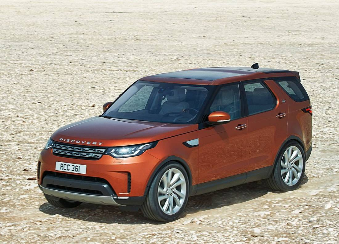 фото Land Rover Discovery 2017 года