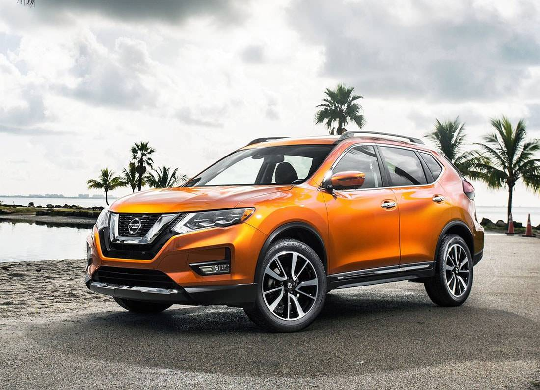 фото Nissan Rogue 2017 года