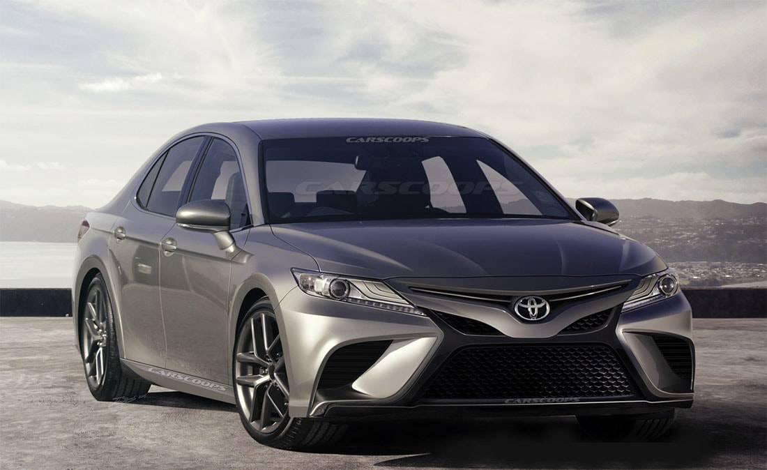 фото Toyota Camry 2018 года