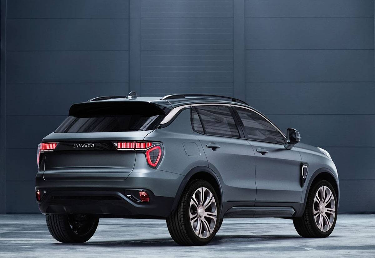картинки Lynk CO SUV 01 2017-2018 года