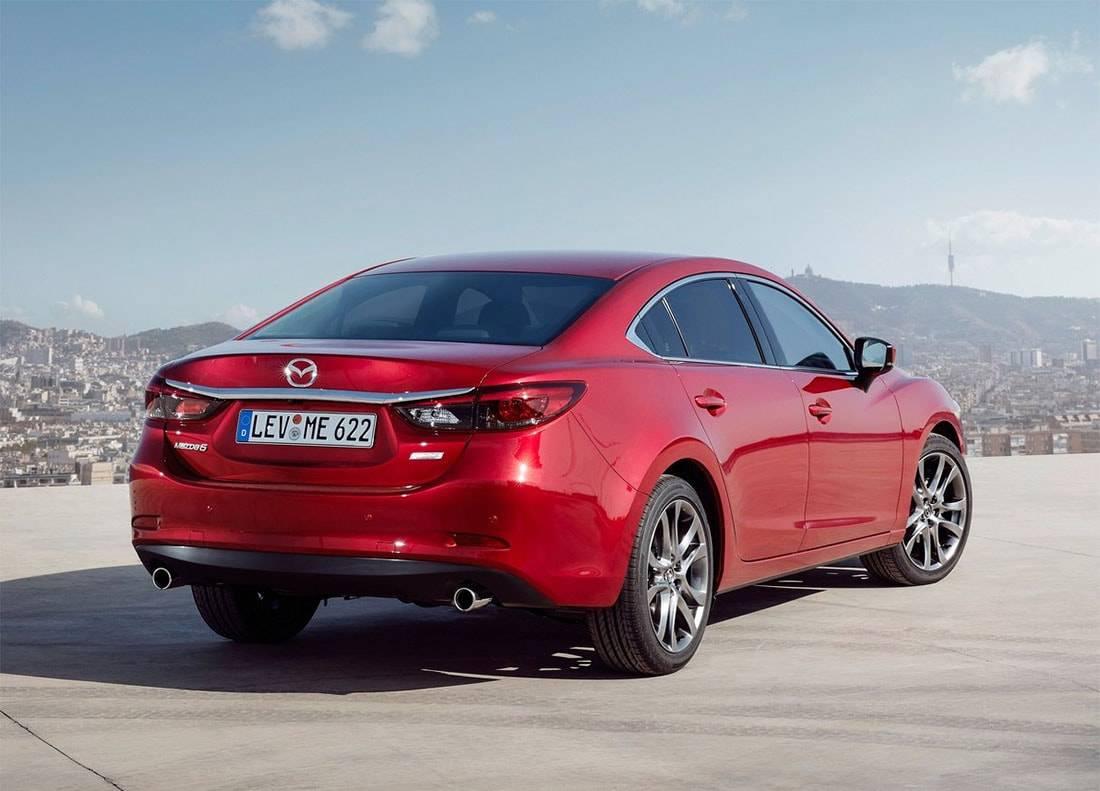 картинки седан Mazda 6 2017-2018 года
